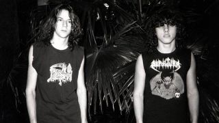 Chuck Schuldiner and Chris Reifert from Death