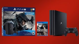 PS4 Pro with Call of Duty: Modern Warfare bundle