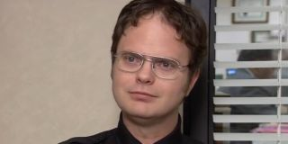 Dwight Schrute doing his confessional after interrogating a clueless Kevin about drugs on The Office