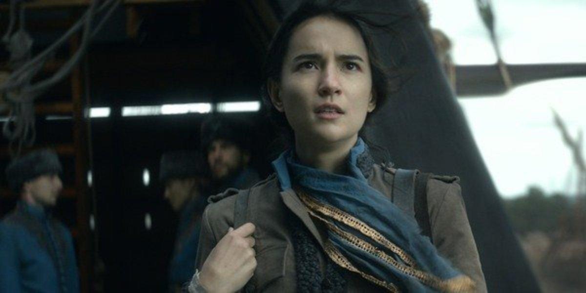 Jessie Mei Li as Alina Starkov.