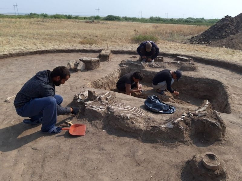 In Photos: Young Couple Buried 4,000 Years Ago in Kazakhstan