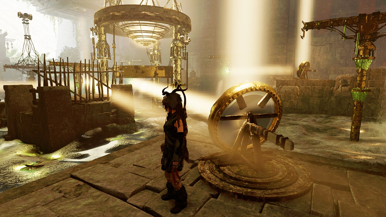 How To Solve The Shadow Of The Tomb Raider Mirror Challenge Tomb Aka The Temple Of The Sun Gamesradar