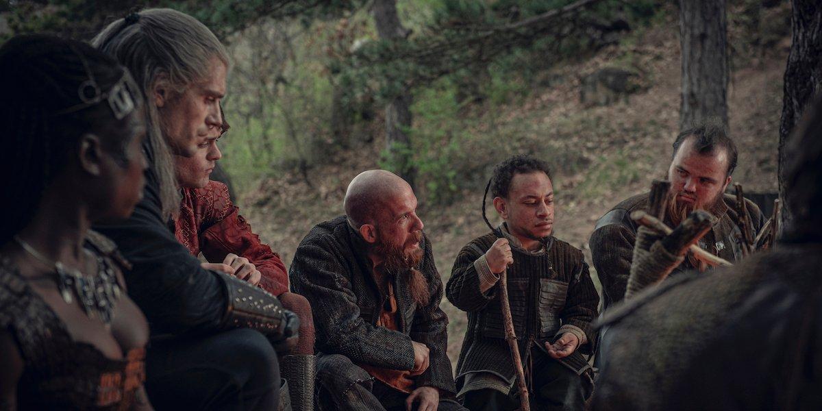 the witcher geralt dwarves netflix