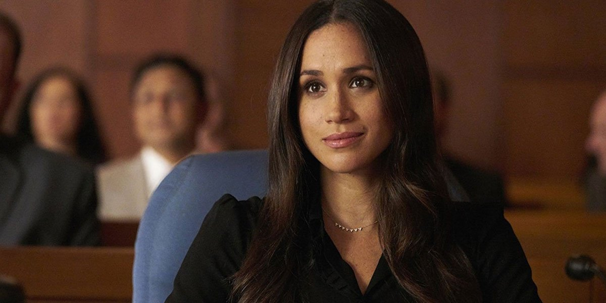 Meghan Markle in Suits Courtroom USA