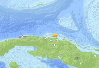 cuban earthquake