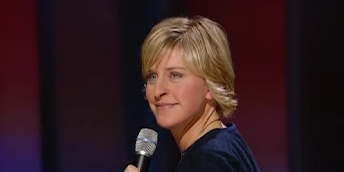 Ellen DeGeneres in Here and Now