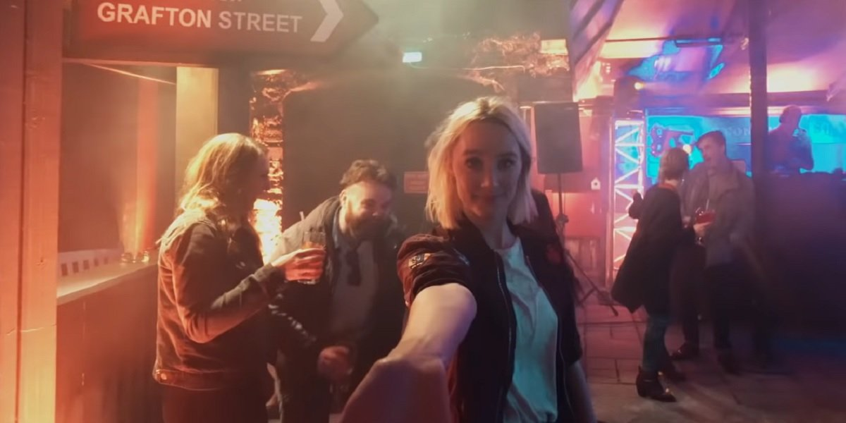 Saoirse Ronan in Ed Sheeran's Galway Girl Music Video
