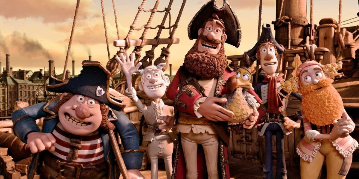 The stop-motion cast of The Pirates! Band of Misfits