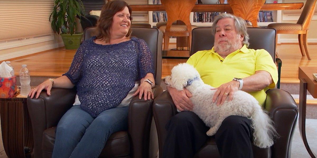 Steve Wozniak Janet Hill Wozniak Celebrity Watch Party Fox