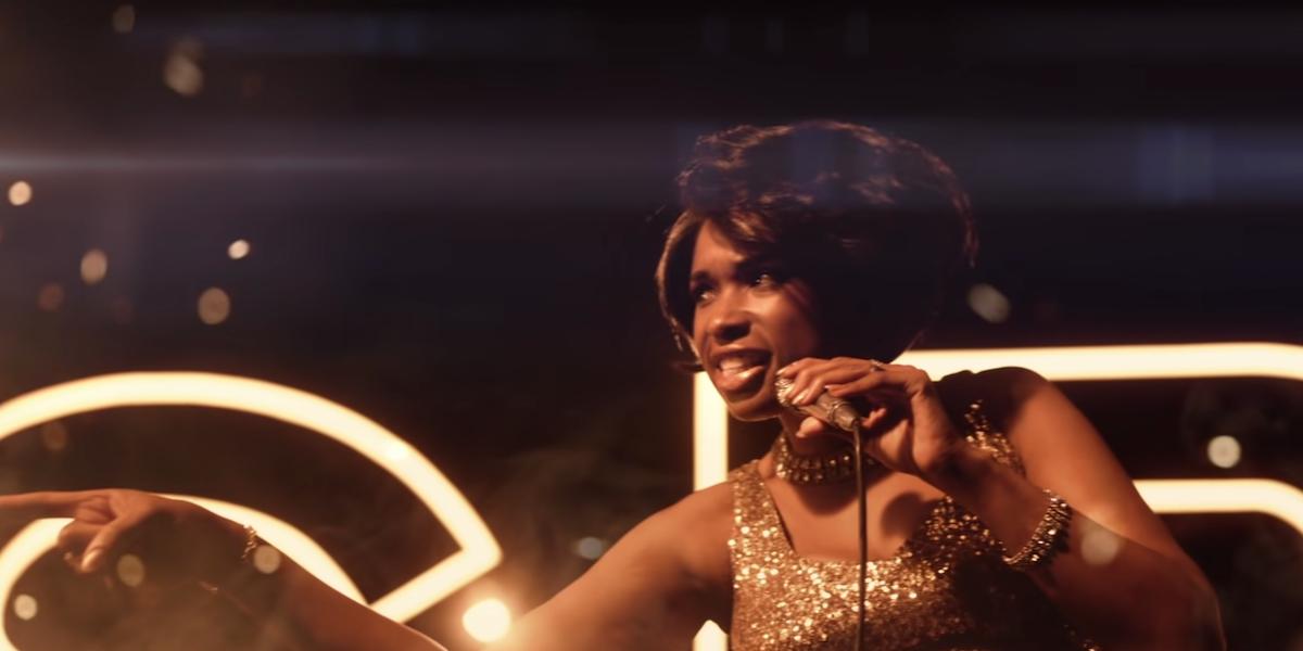 Jennifer Hudson as Aretha Franklin in Respect trailer