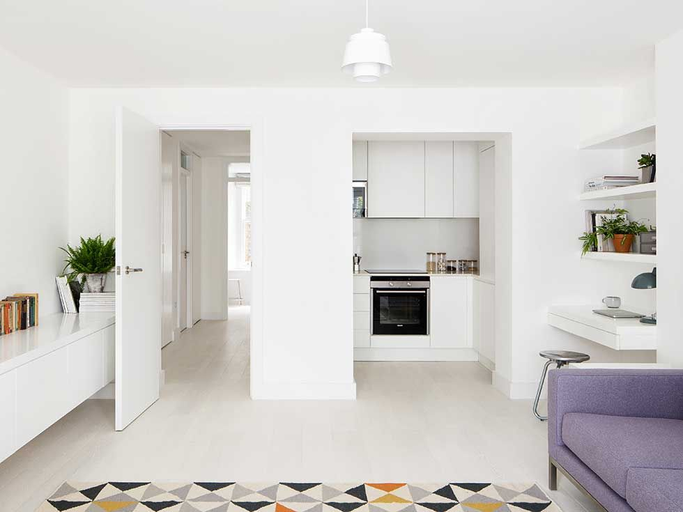 Maximising Space In A Small London Flat Real Homes