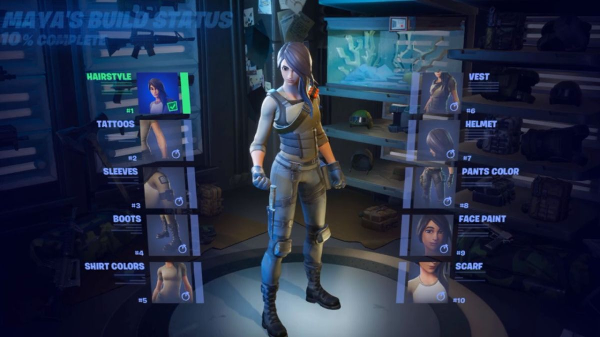 Fortnite players are not happy about locking in choices for the new Maya skin - GamesRadar+