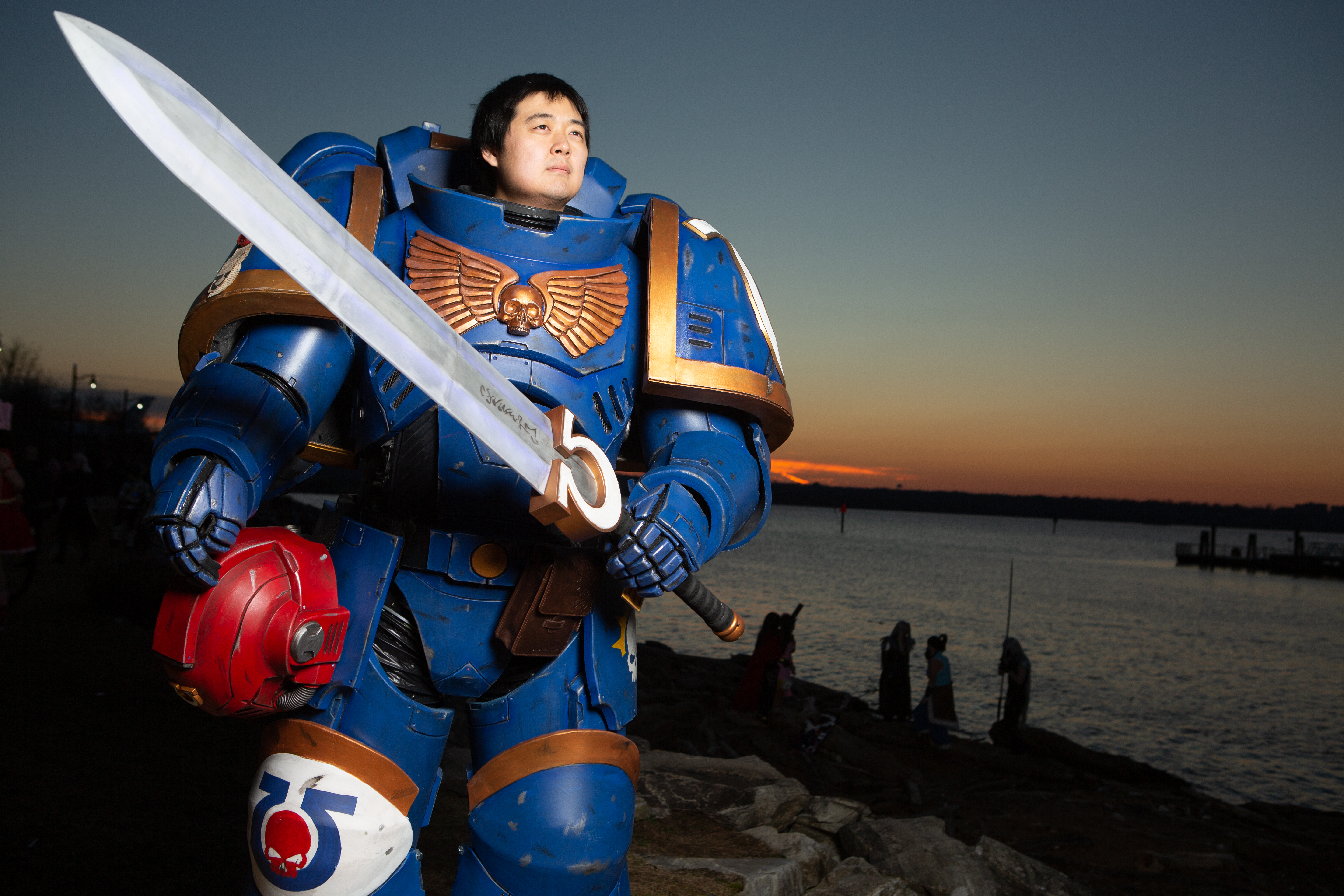 Check out this Primaris Space Marine cosplay | PC Gamer