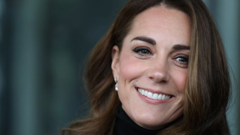 Catherine, Duchess of Cambridge looks effortlessly chic