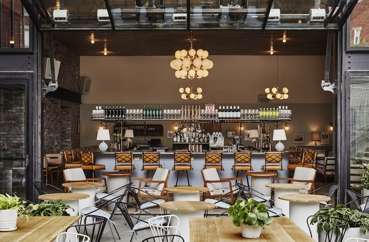The hoxton williamsburg makes a splash across the pond for Hotel decor trends