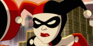 An angry Harley Quinn from HBO Max.