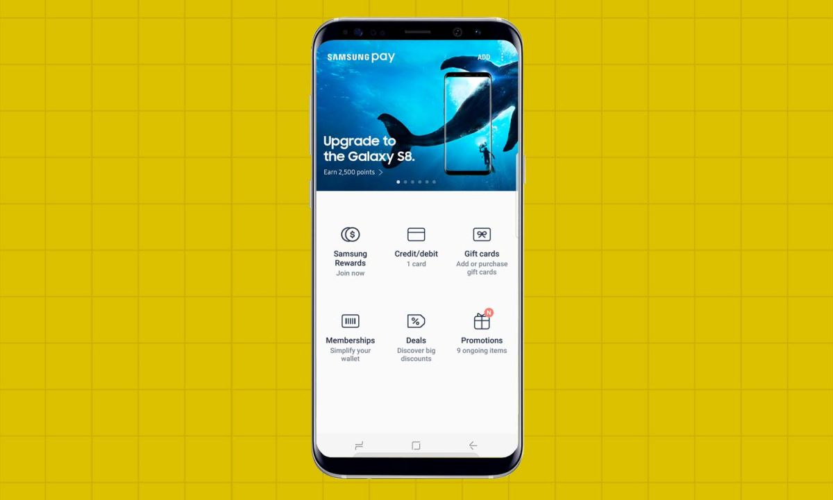 How to Set Up Samsung Pay on the Galaxy S8 - Samsung Galaxy