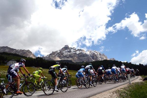 Giro d'Italia 2012, stage 17 Dolomites