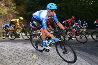 VISE BELGIUM AUGUST 18 Rory Sutherland of Australia and Team Israel StartUp Nation during the 41st Tour de Wallonie 2020 Stage 3 a 192km stage from Montzen to Vise TourdeWallonie TRW2020 on August 18 2020 in Vise Belgium Photo by Luc ClaessenGetty Images