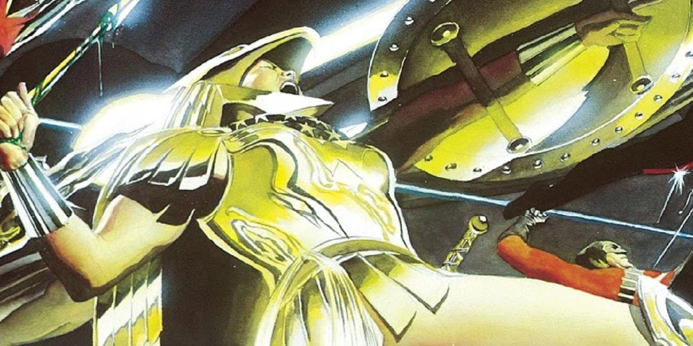 Wonder Woman Golden Eagle Armor Kingdom Come