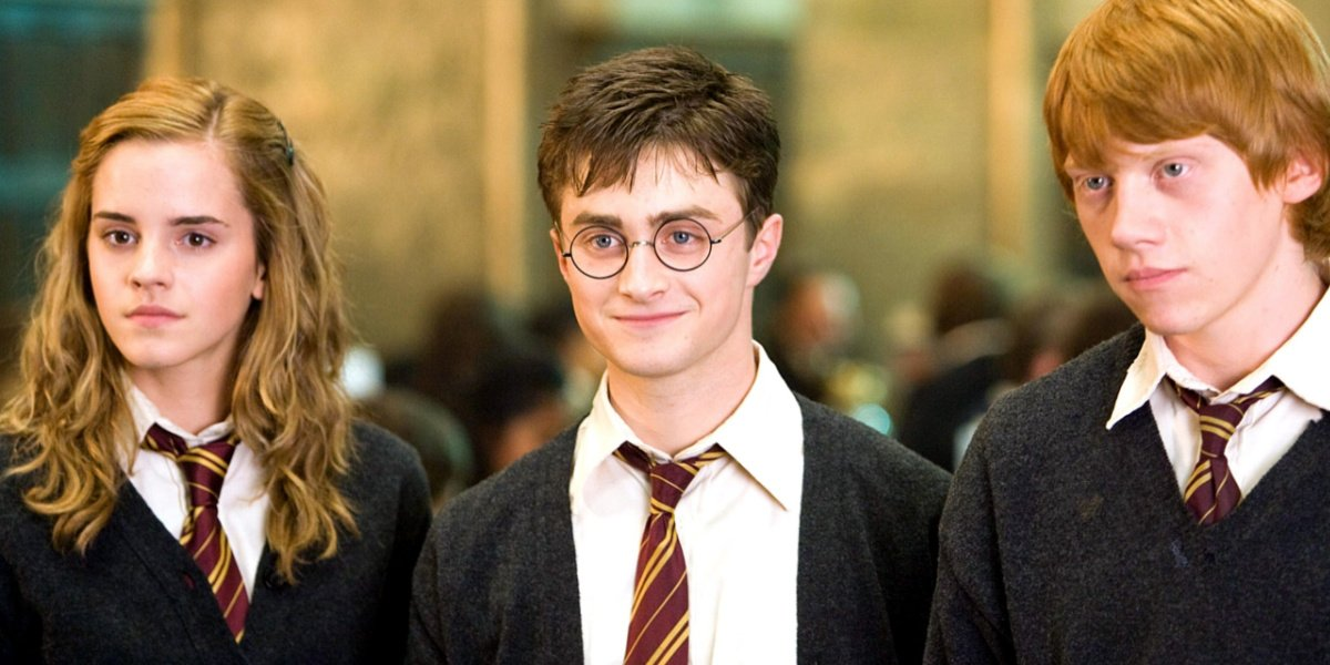 Daniel Radcliffe in Harry Potter and the Order of the Phoenix.