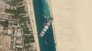 Google Suez canal
