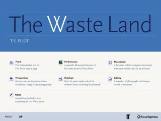 "Rich Resource for Teaching ""The Waste Land"""