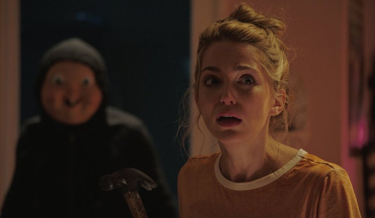 Jessica Rothe in 2017's Happy Death Day