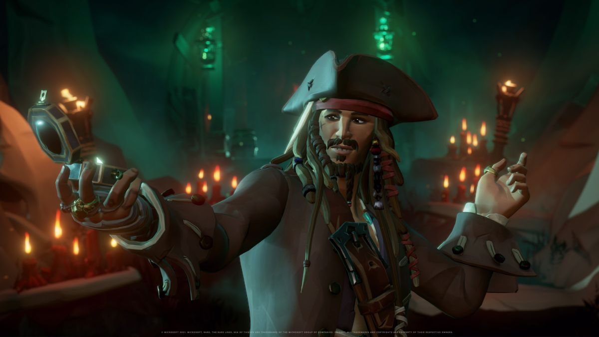 In the new Sea of Thieves Tall Tales, other players won't be able to mess with you