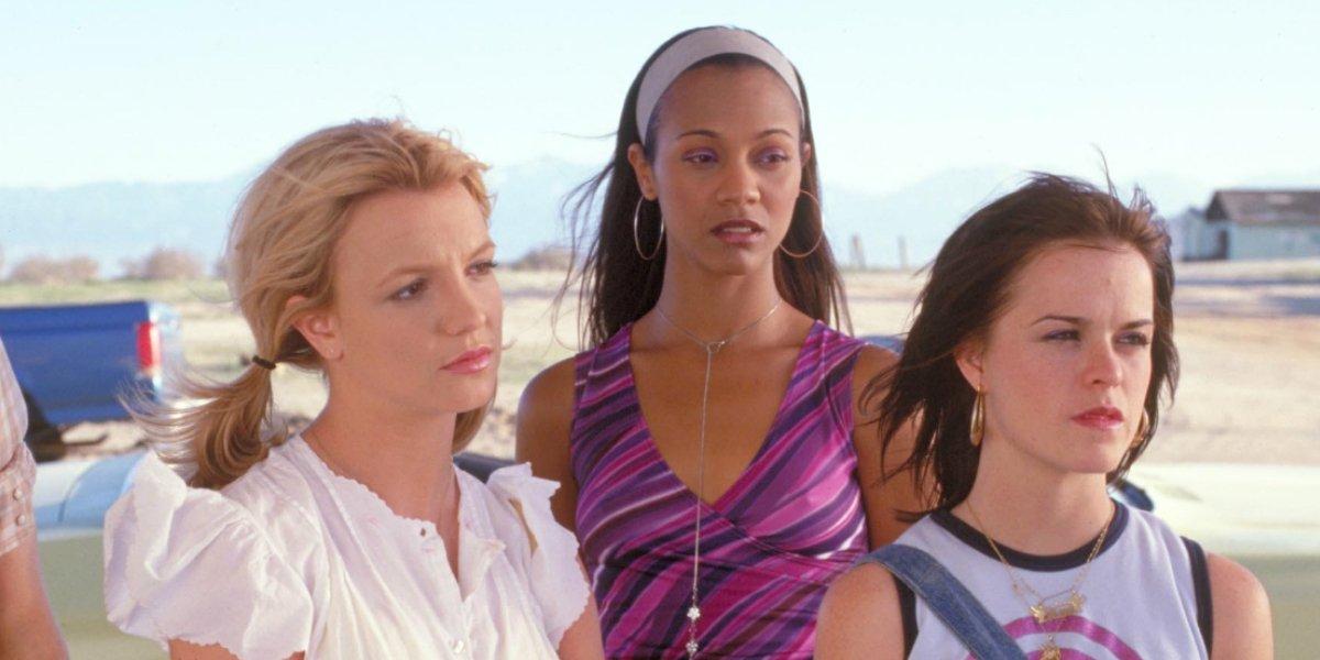 Britney Spears, Zoe Saldana, and Taryn Manning in Crossroads