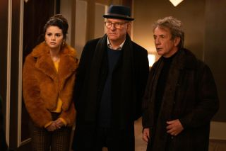 'Only Murders In the Building' trio Selena Gomez, Steve Martin and Martin Short as Mabel, Charles and Oliver.