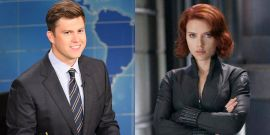 Colin Jost Jokes About What He Really Wants From A Covid Wedding With Scarlett Johansson