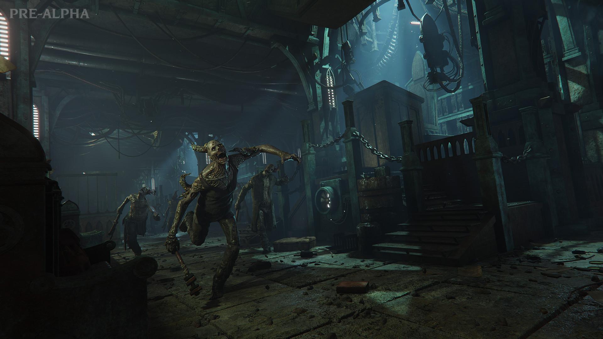 Poxwalkers from Warhammer 40,000: Darktide