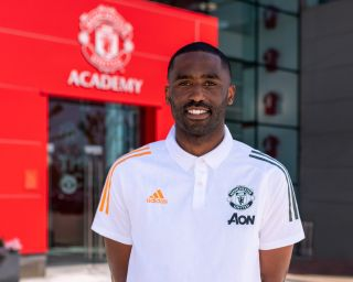 Justin Cochrane joined Manchester United in the summer