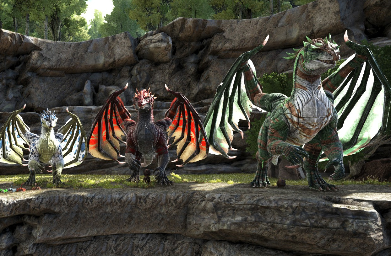 Tame, breed, and ride dragons with this mod for Ark: Survival