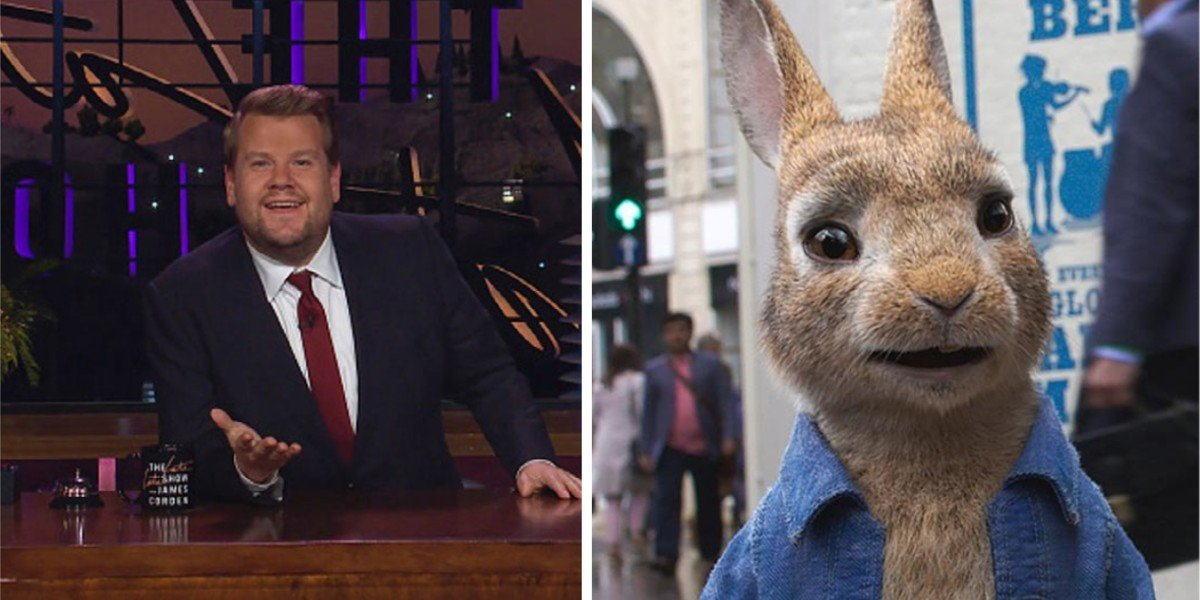James Corden - The Late Late Show with James Corden/Peter Rabbit 2: The Runaway