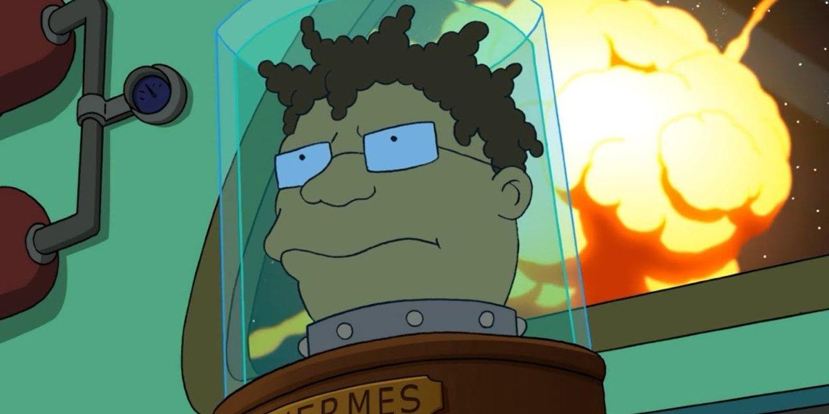 Hermes in Futurama