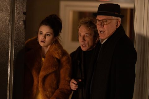 Selena Gomez, Martin Short, and Steve Martin in 'Only Murders in the Building'