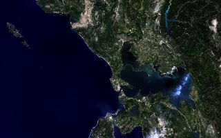 Northwestern Greece from Space