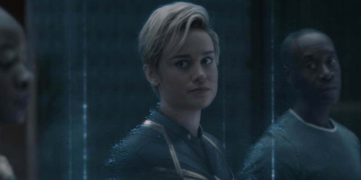 Could Captain Marvel's Avengers: Endgame Look Actually Connect With WandaVision? - CinemaBlend