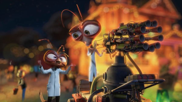 Monsters Vs. Aliens: Mutant Pumpkins From Outer Space Preview #9908
