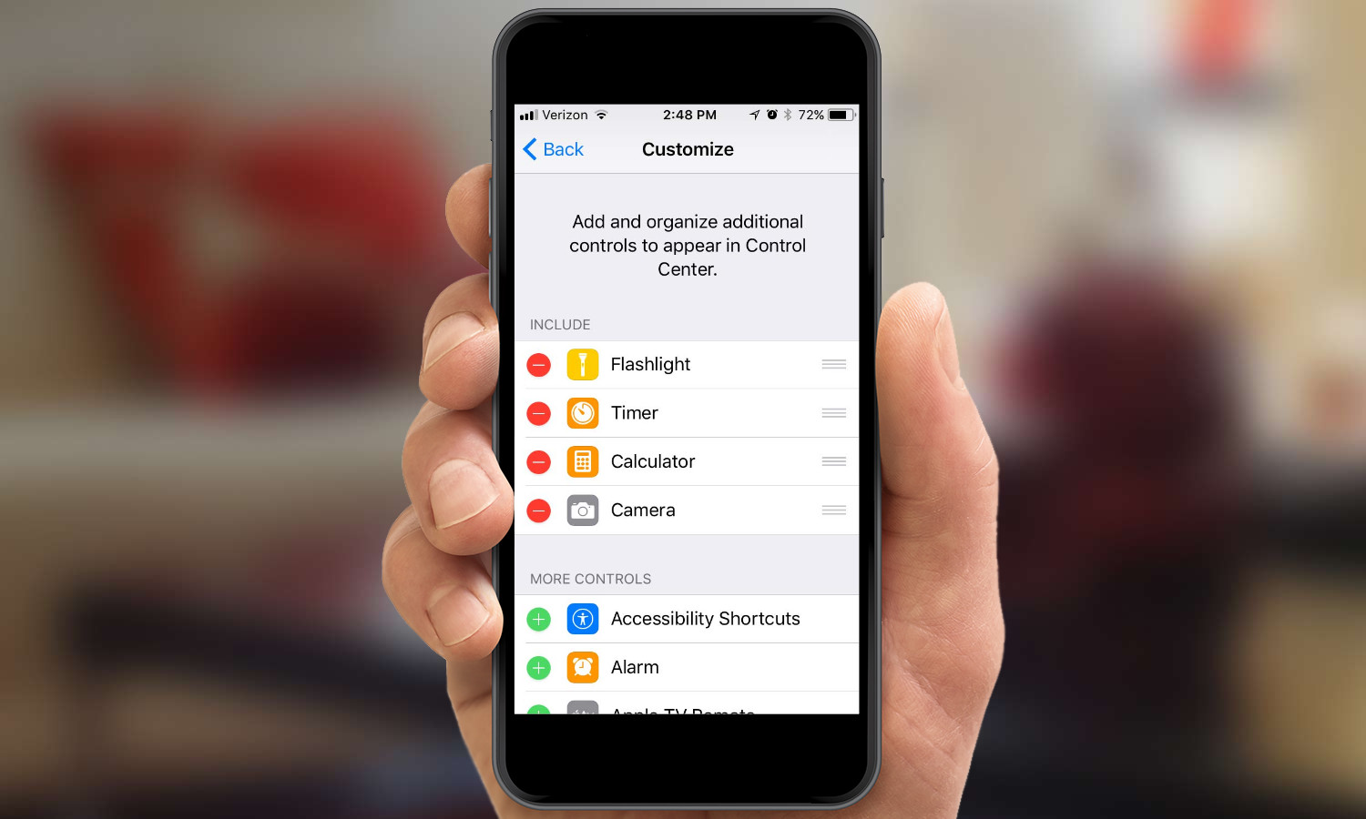 How to Customize Control Center in iOS 11 | Tom's Guide