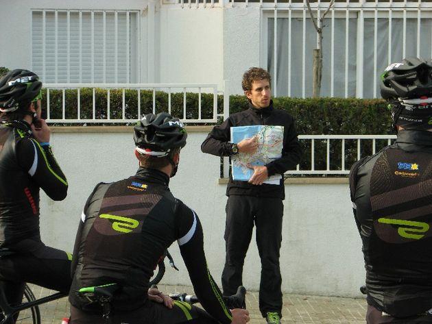 DS Alex Sans Vega at Endura training camp