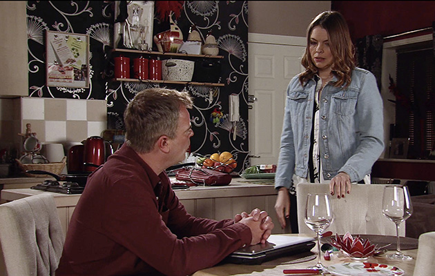 Steve McDonald is stunned as Tracy admits she sabotaged Michelle's car