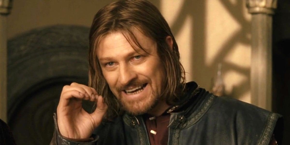 Sean Bean in Lord of the Rings: The Fellowship of the Ring