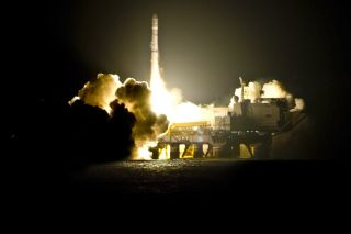 Sea Launch Deploys Military Spacecraft for Italy