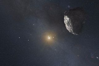 Kuiper Belt object conception