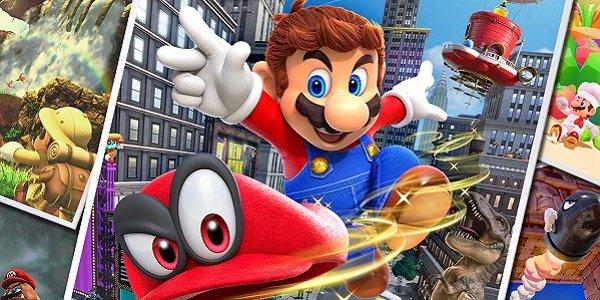 Mario and Cappy Super Mario Odyssey