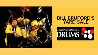 Bill Bruford's Yard Sale starts on Wednesday 14 October via Graham Russell Drums