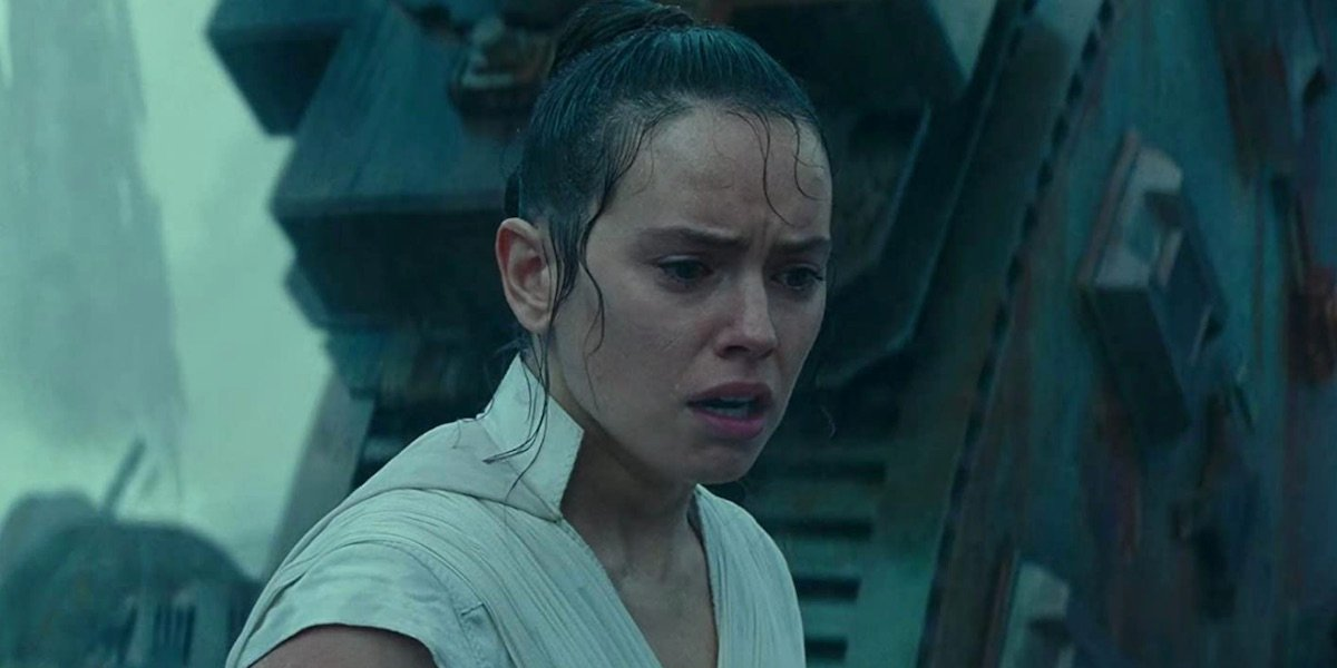 Rey in The Rise of Skywalekr